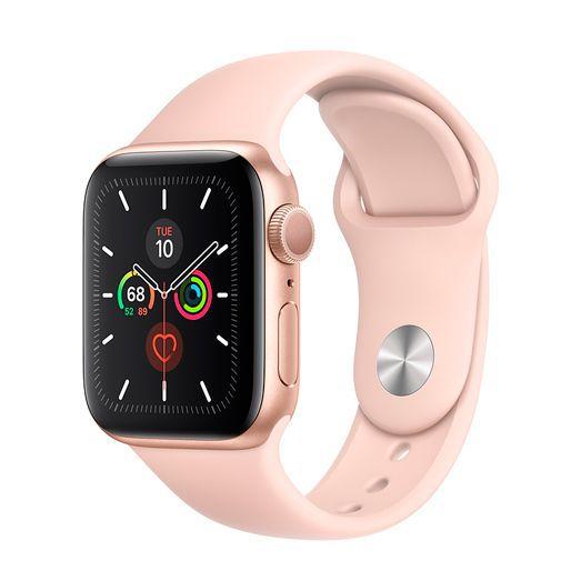 Apple Watch Series 5 Sport - 40mm - Goud aluminium