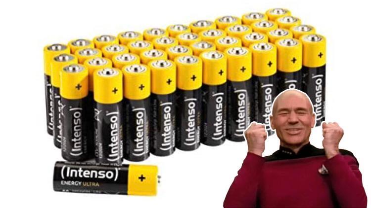 Intenso Energy Ultra AA alkalinebatterijen 40 Pack