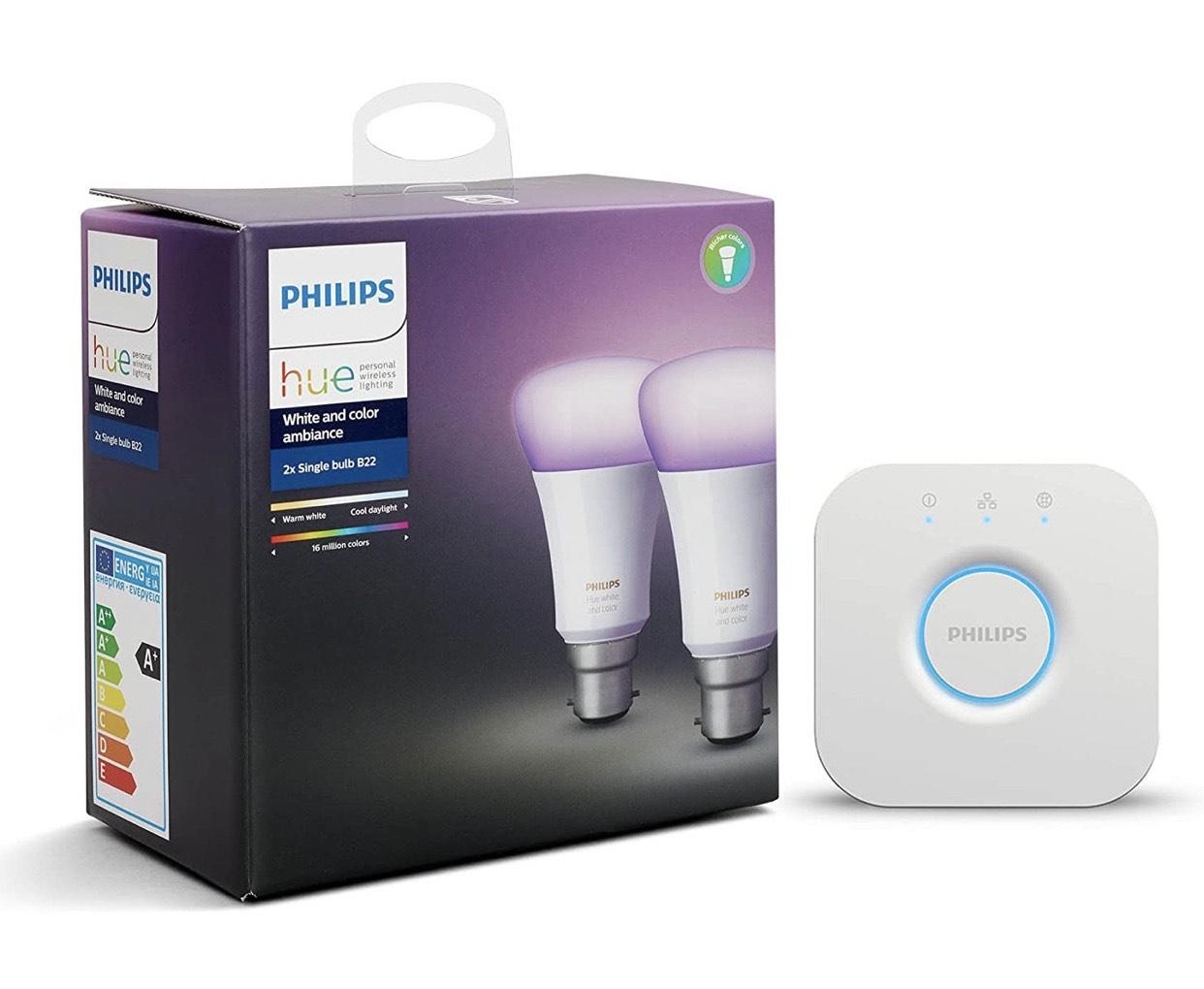 Philips hue 2 bulb starters kit