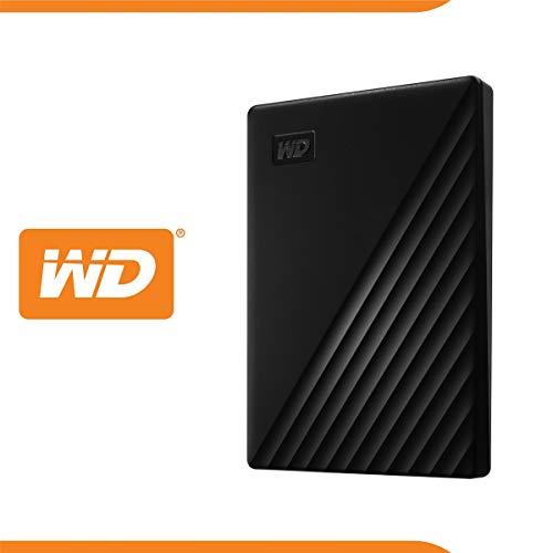 WD My Passport Externe harde schijf 5 TB WDBPKJ0050BBK-WESN (USB 3.2)