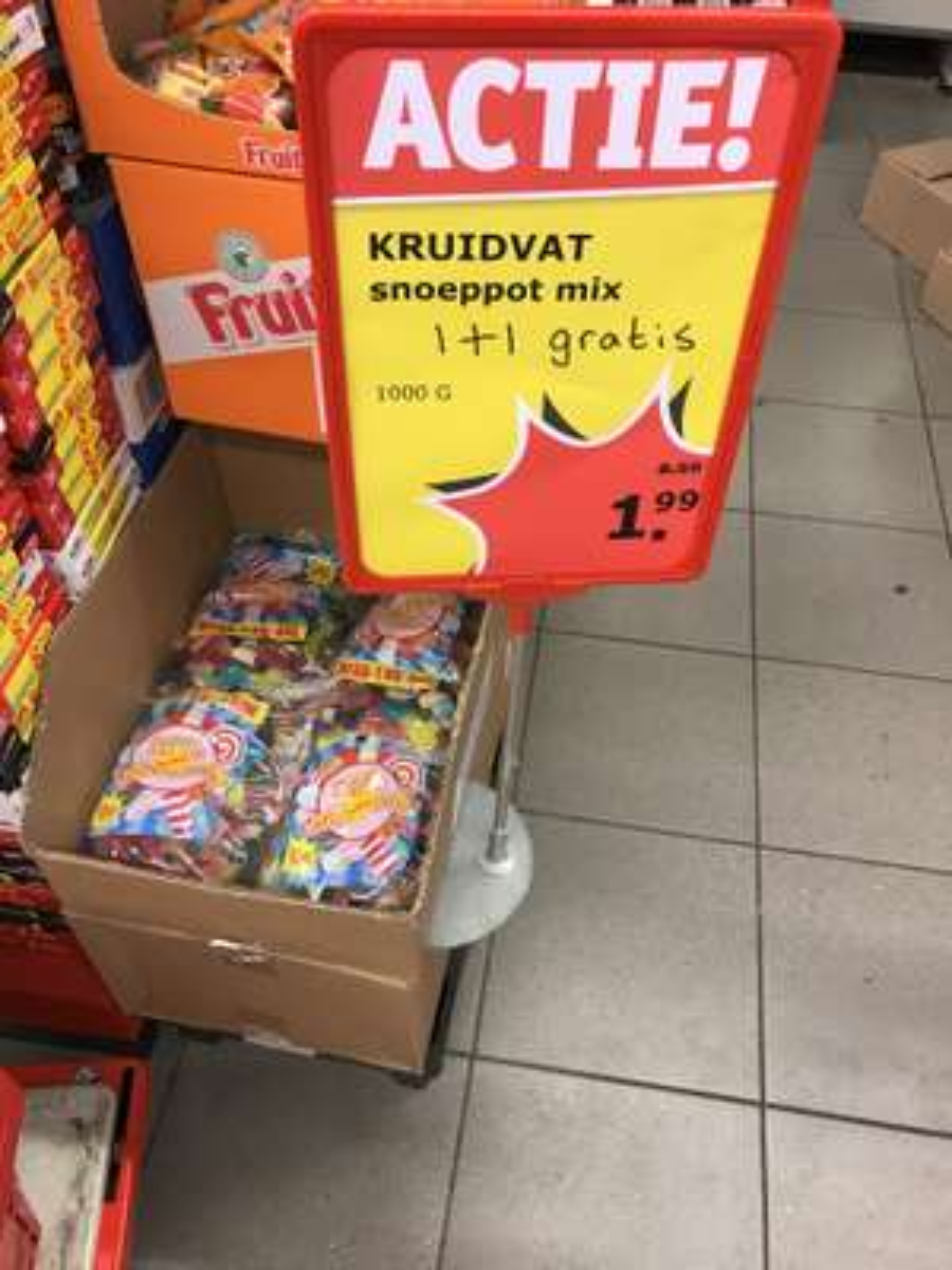 (Lokaal Kruidvat?) 2 kilo snoepmix €1,99