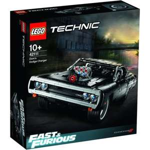 LEGO Technic Dom's Dodge Charger (42111) - laagste ooit