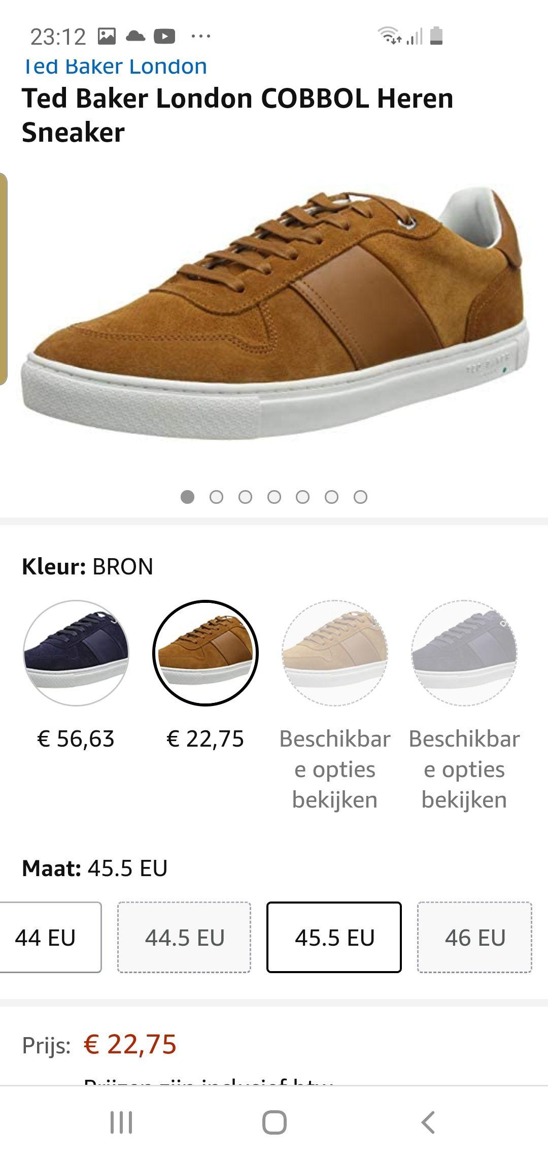 Ted Baker London COBBOL Heren Sneaker