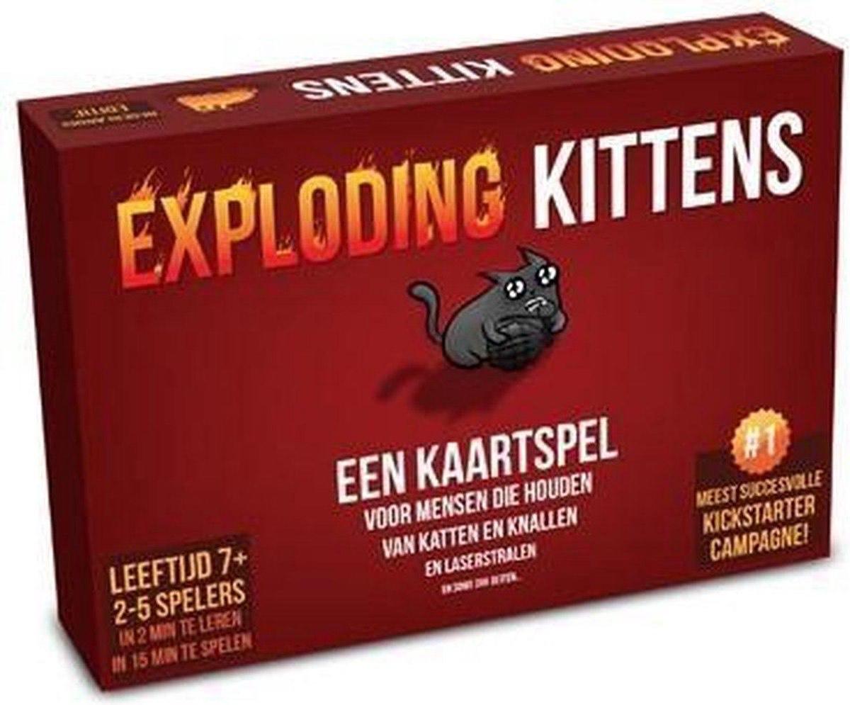 Exploding Kittens Nederlandstalig || Amazon.nl