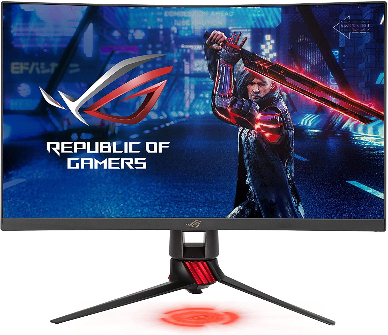 ASUS ROG XG27WQ Gaming-scherm 27 inch WQHD - gebogen VA - 165 Hz - 1 ms - 2560 x 1440 - 450 cd/m² - AMD FreeSync Premium Pro - ELMB - HDR400