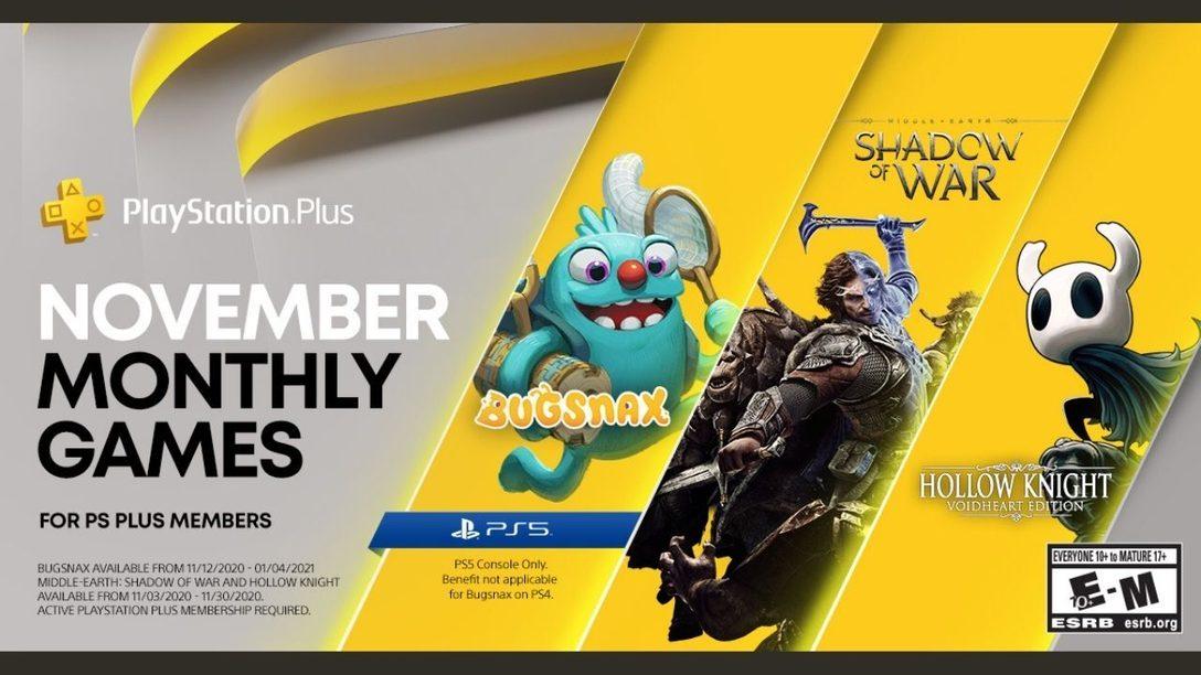 PlayStation Plus games voor november 2020
