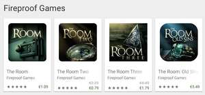 [Android] The Room Two & Three met 40-60% korting @Google Play Store