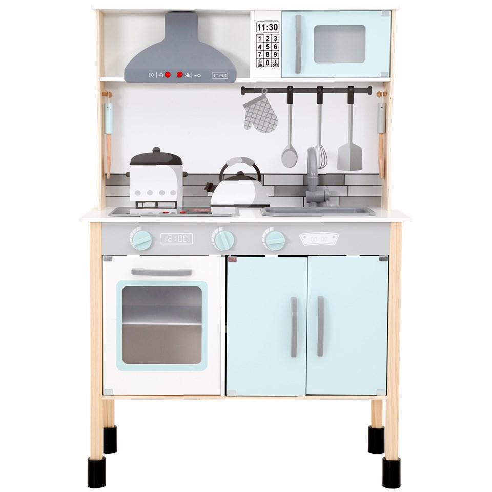 Mini Matters houten keukentje met licht en geluid @ Action