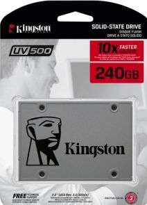 "Kingston UV500 2,5"" 240GB SSD @ Azerty"