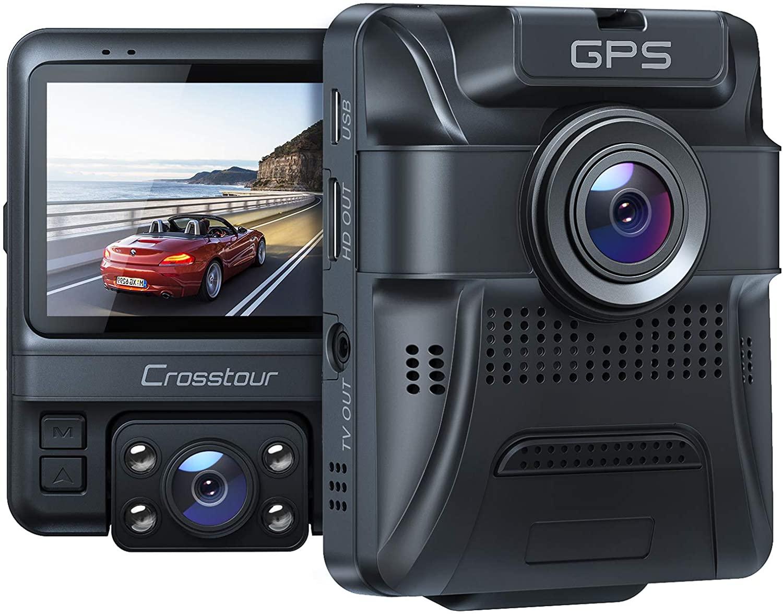 Crosstour CR750 1080p dual dashcam