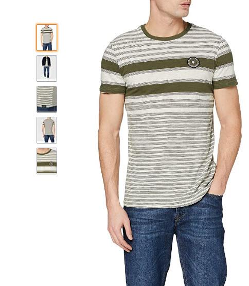 [Amazon.nl] Garcia heren t-shirt (Base Army 1970) N01204