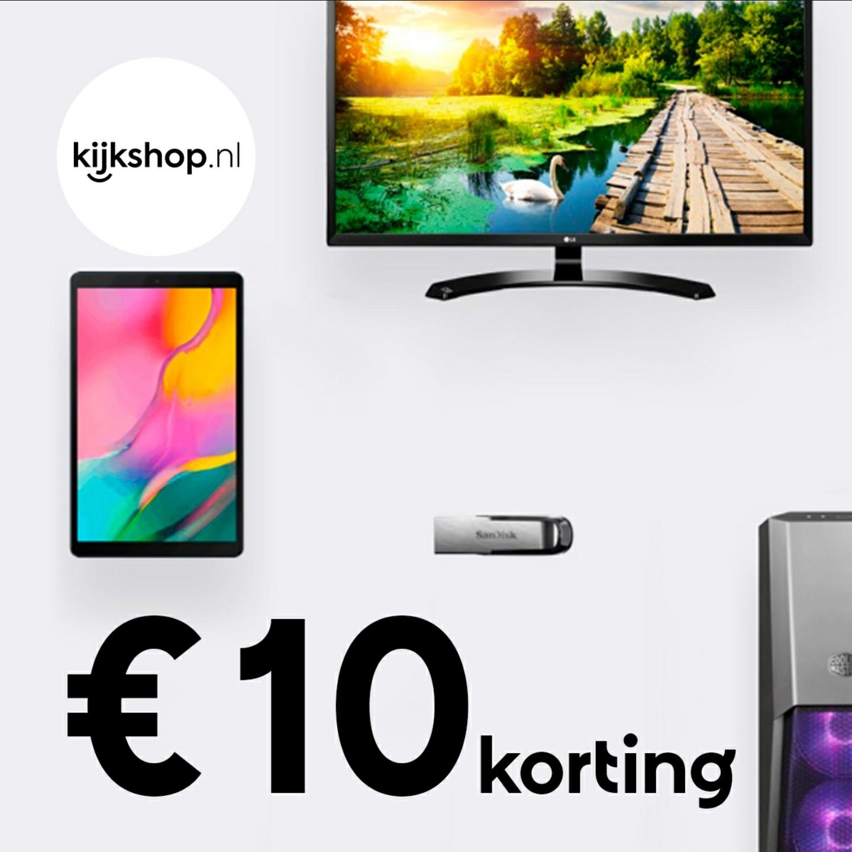 €10 korting bij een minimale besteding van €50 @ Kijkshop