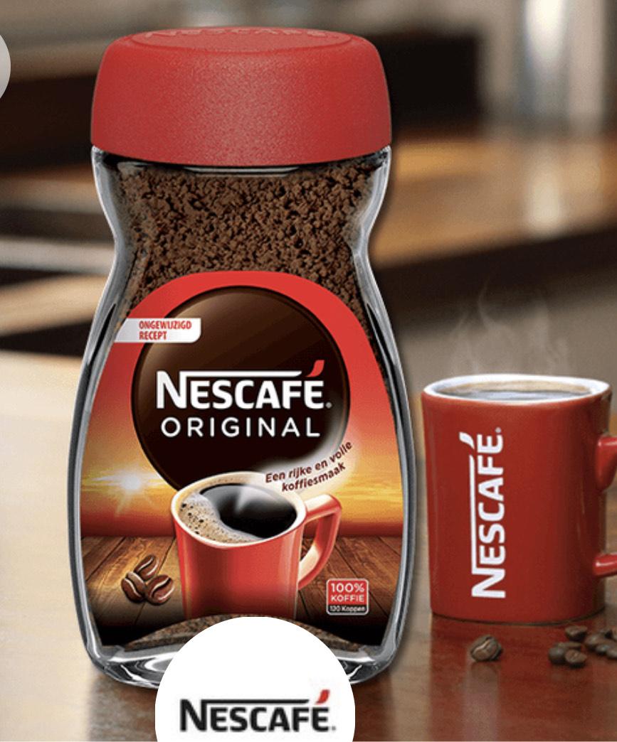NESCAFÉ® Original 200gr voor €2,75 @ Scoupy