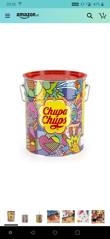 Chupa Chups best of lolly's emmer, 150 Stuks