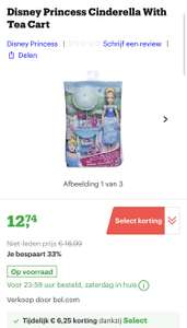 [select deal bol.com] Disney Princess Cinderella With Tea Cart