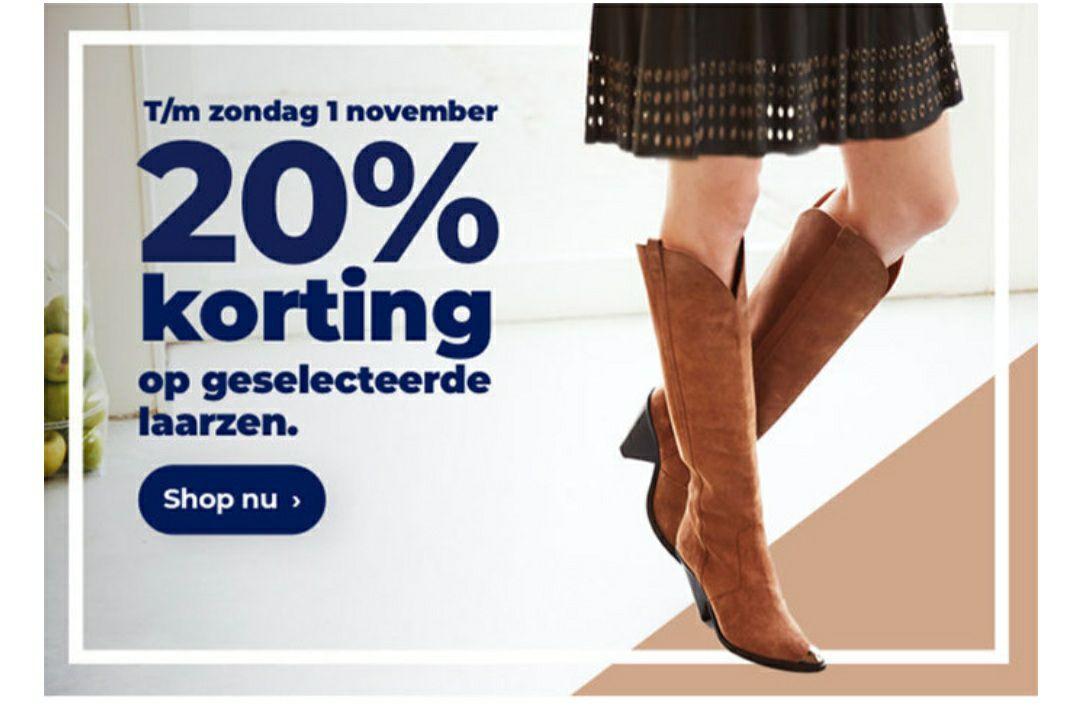 Van den Assem: Tot zondag 20% korting op geselecteerde laarzen