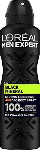 L'Oréal Men Expert Black Mineral Black Mineral (6 x 150 ml)