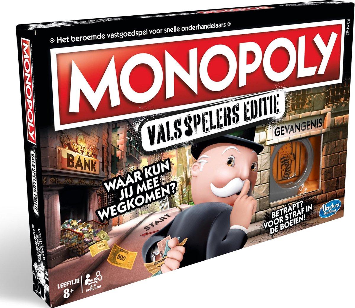 [Select Bol.com] Monopoly valsspelers editie