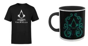 Assassin's Creed Valhalla set: t-shirt + mok @ ZAVVI