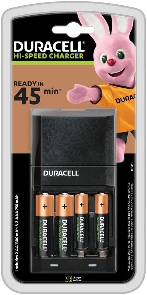 Duracell batterij oplader