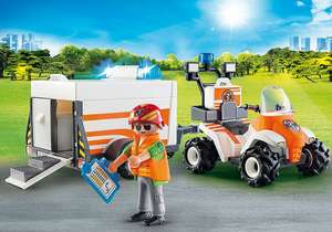 Playmobil 70053 City Life Eerste Hulp Quad @Amazon.nl
