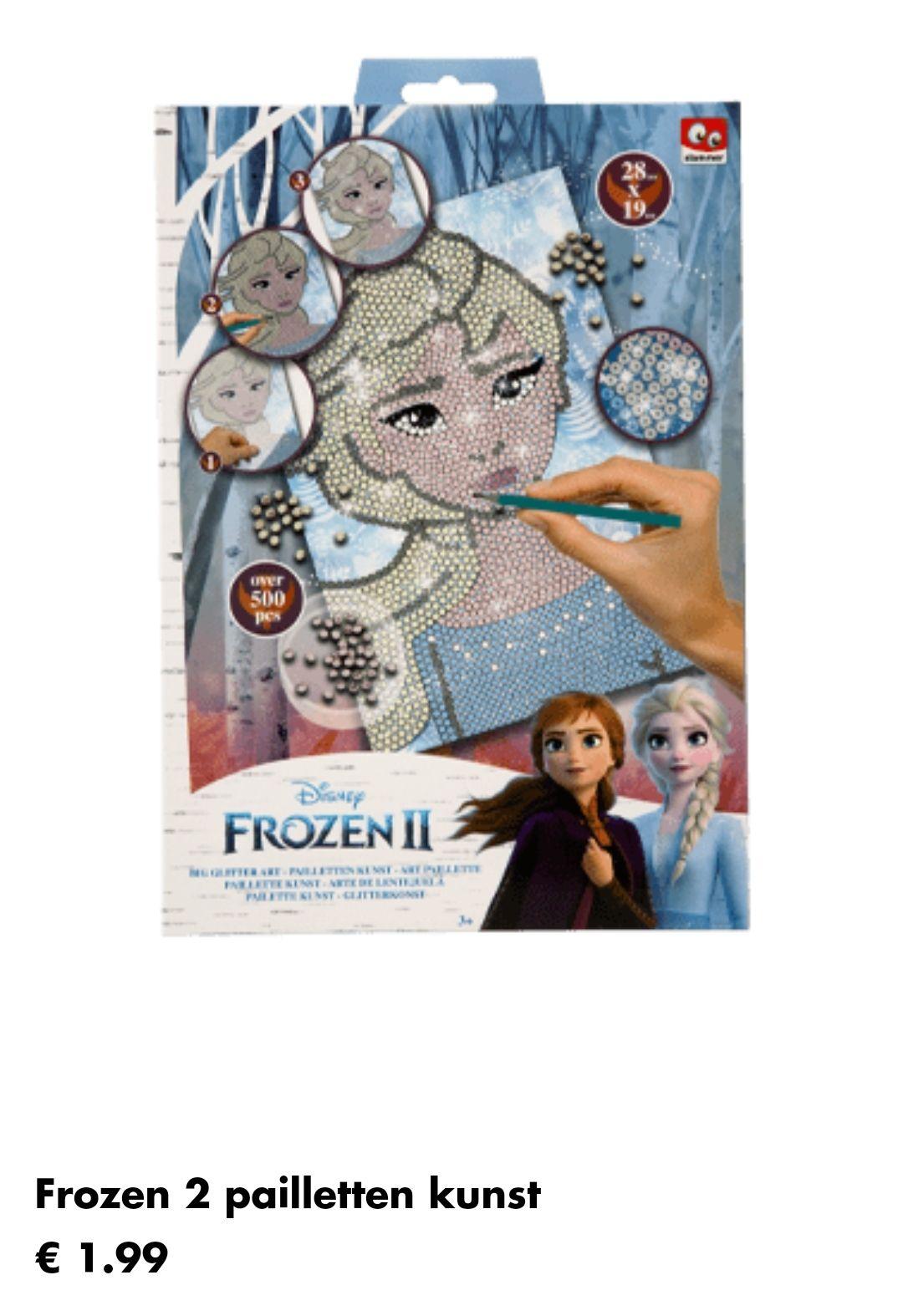 Wibra alle speelgoed & kleding oa Frozen 2 + 1 gratis (Sint/kerst)