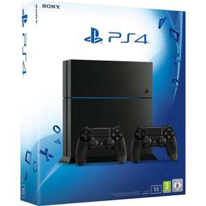 PlayStation 4 (1TB) + 2x DualShock 4 controllers voor €379 @ Game Mania (8 januari)