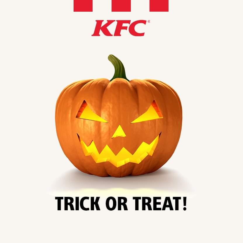 Gratis Kids Meal voor alle kids die verkleed meerijden door de Drive @ KFC Leeuwarden