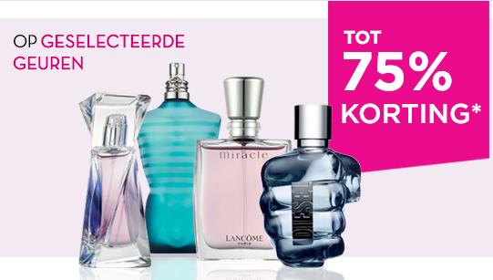 Wintersale tot 75% korting (Calvin Klein Escape for Men - €20,39) @ Paris XL
