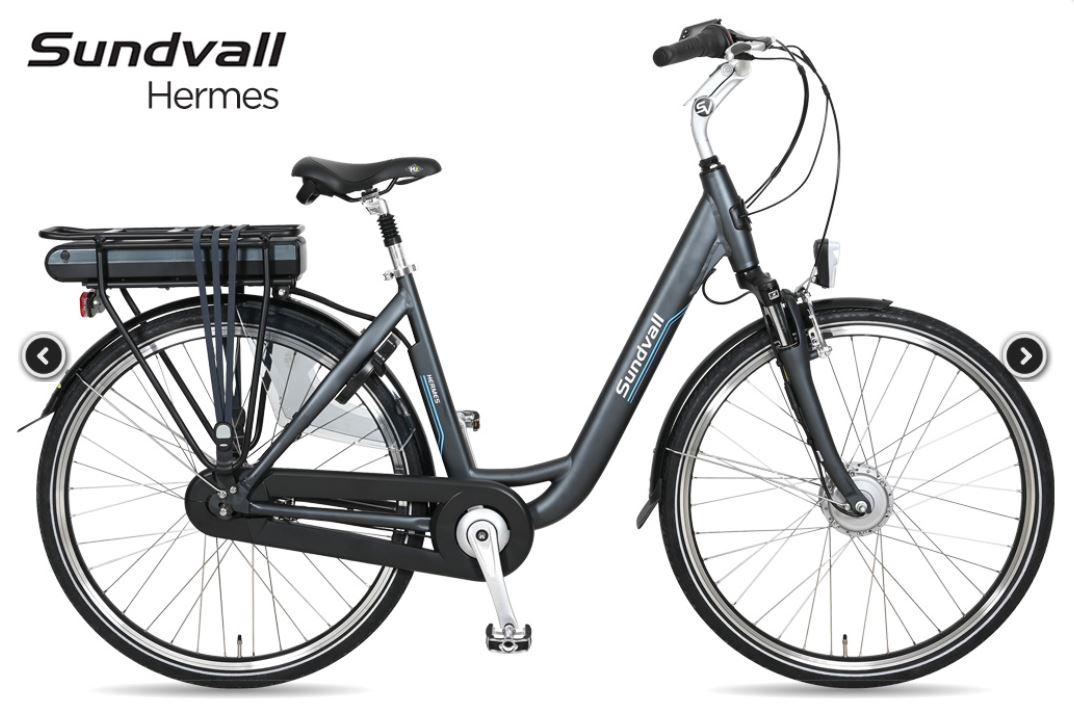 [Lokaal] Sundvall electrische fiets (voorwielmotor) #Cranebroek