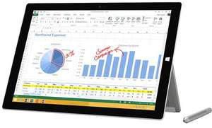 "Microsoft Surface Pro 3, 12"", i7, 8 GB RAM - 512 GB SSD @Misco"
