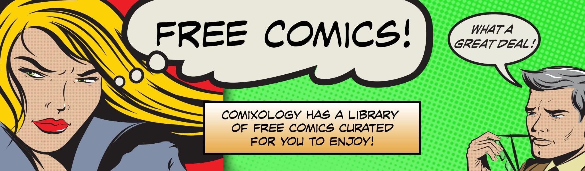 25 gratis digitale strips bij comiXology
