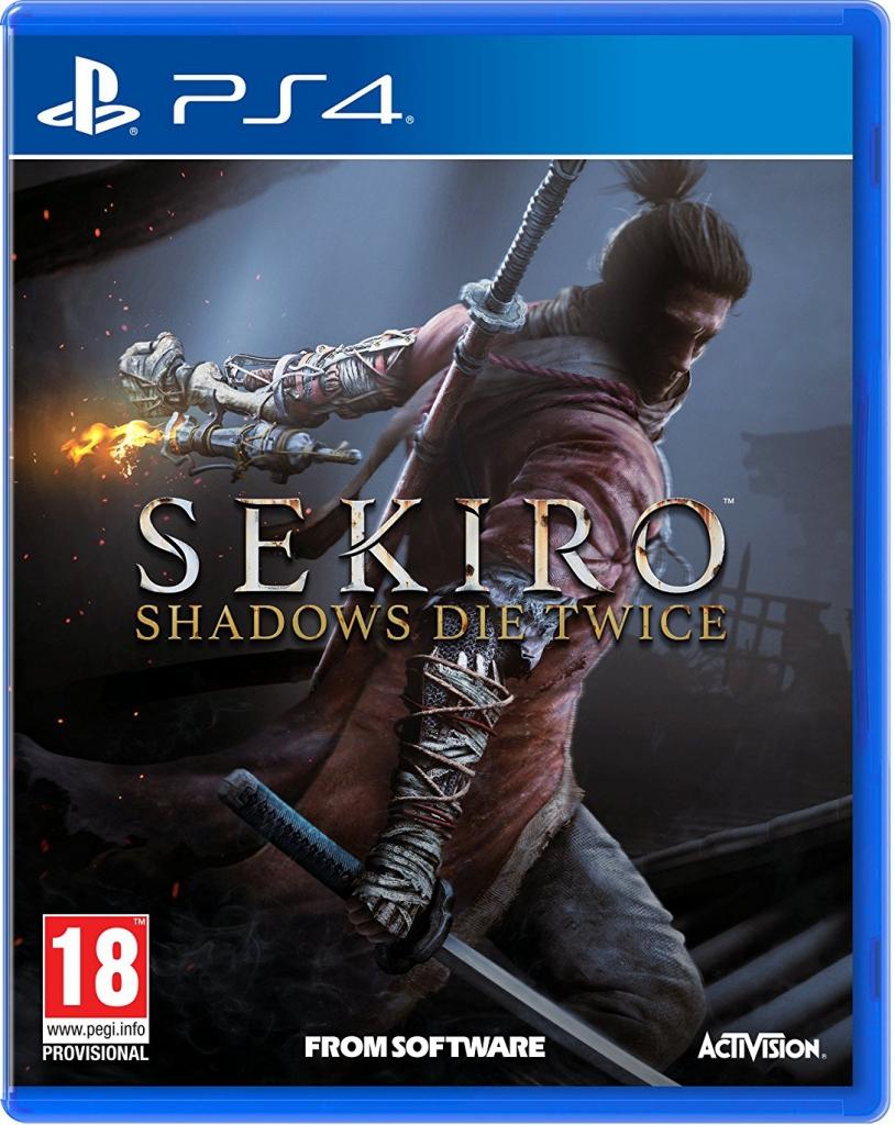 Sekiro Shadows Die Twice (ps4 nieuw, gewone versie )