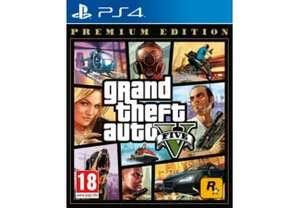 GTA V Premium Edition PS4 spel