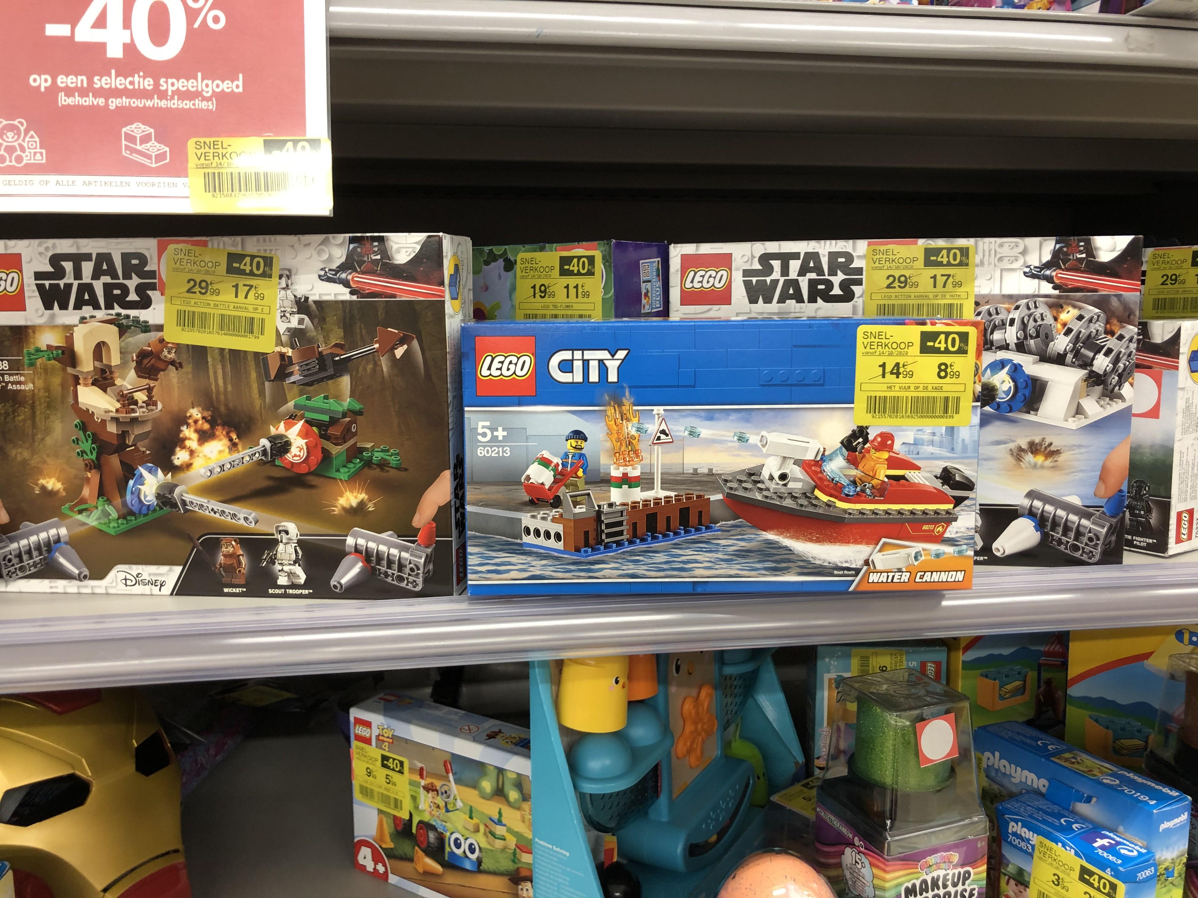 [Lokaal België Turnhout] Lego 40% korting @Carrefour hypermarkt