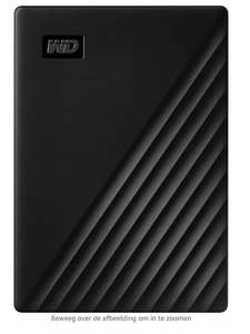 Western Digital 5 Tb draagbare hdd @ amazon.nl prime
