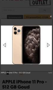 APPLE iPhone 11 Pro - 512 GB Goud
