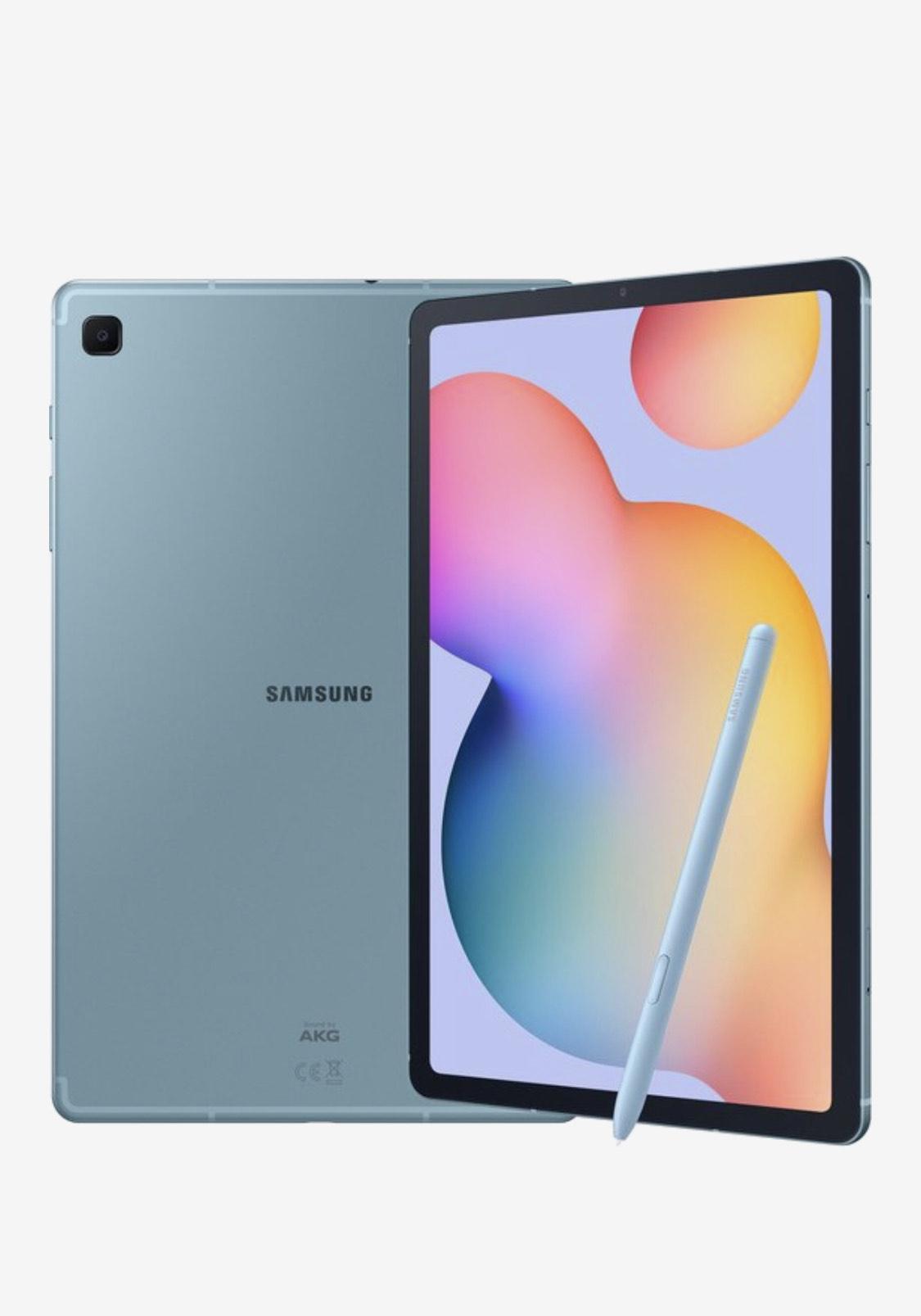 Gratis galaxy buds bij Samsung Galaxy Tab S6 Lite - 64GB - Blauw