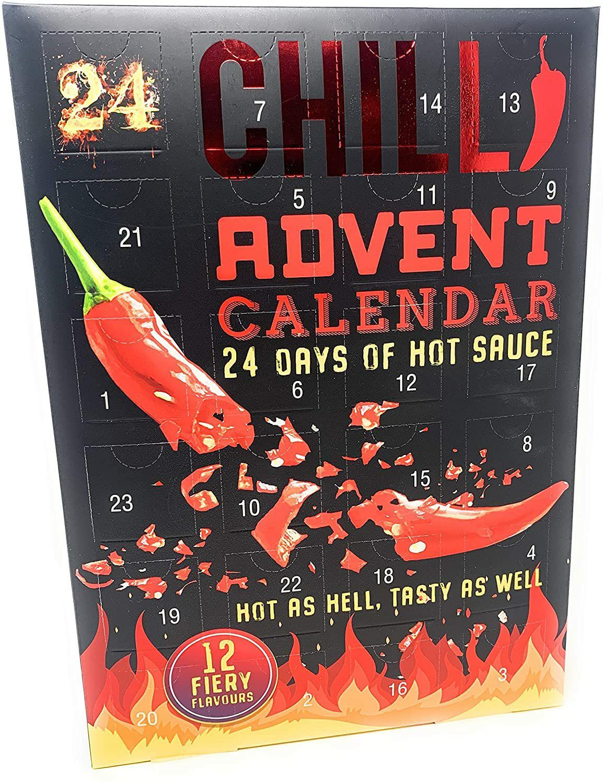 Adventskalender - 24 dagen hete saus!