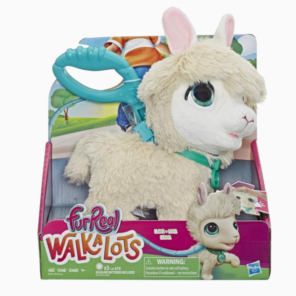 Furreal Walkalots Big Wag Trend Pet Llama