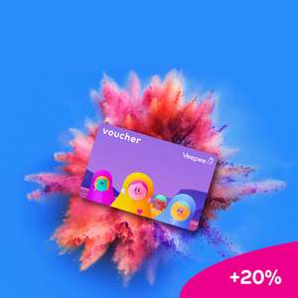 20% extra tegoed op Veepee cadeaukaarten