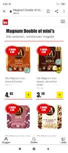 Magnum Double of mini's (Dirk) 2 voor 4 EUR