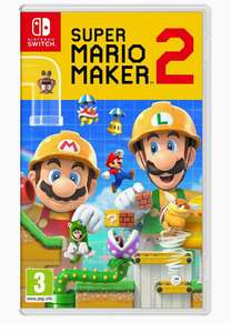 Super Mario Maker 2, Switch