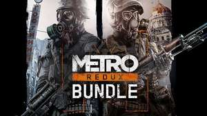Metro Redux Bundle bevat Metro 2033 + last light @Fanatical