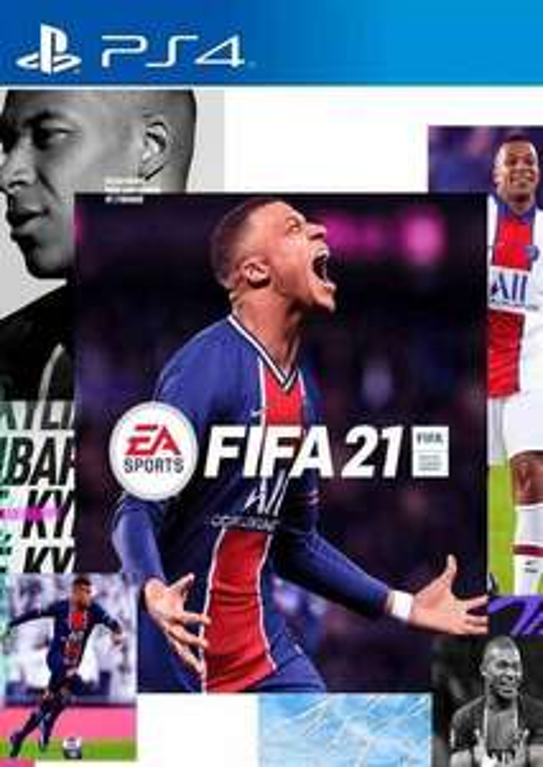 FIFA 21 PS4/PS5 Code (LET OP!! USA CODE)