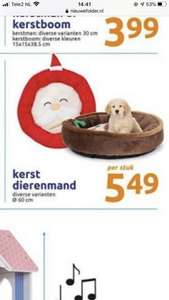 Kerst dierenmand 60 cm action