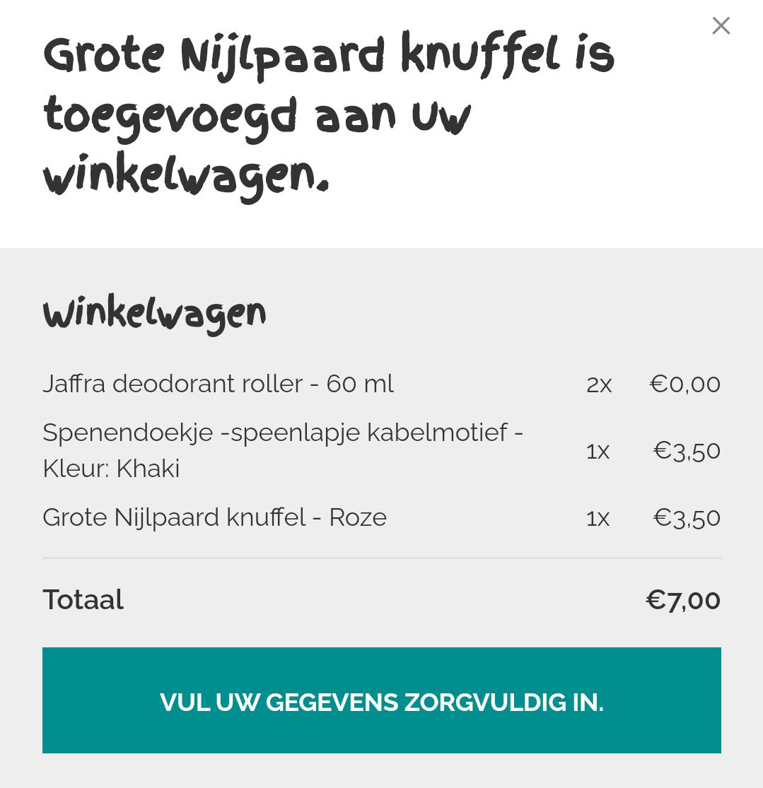 Jafra deodorant van gratis tot maximaal €2,50.