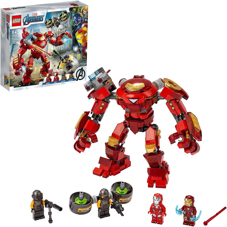 Lego Iron Man Hulkbuster vs A.I.M. Agent (76164)