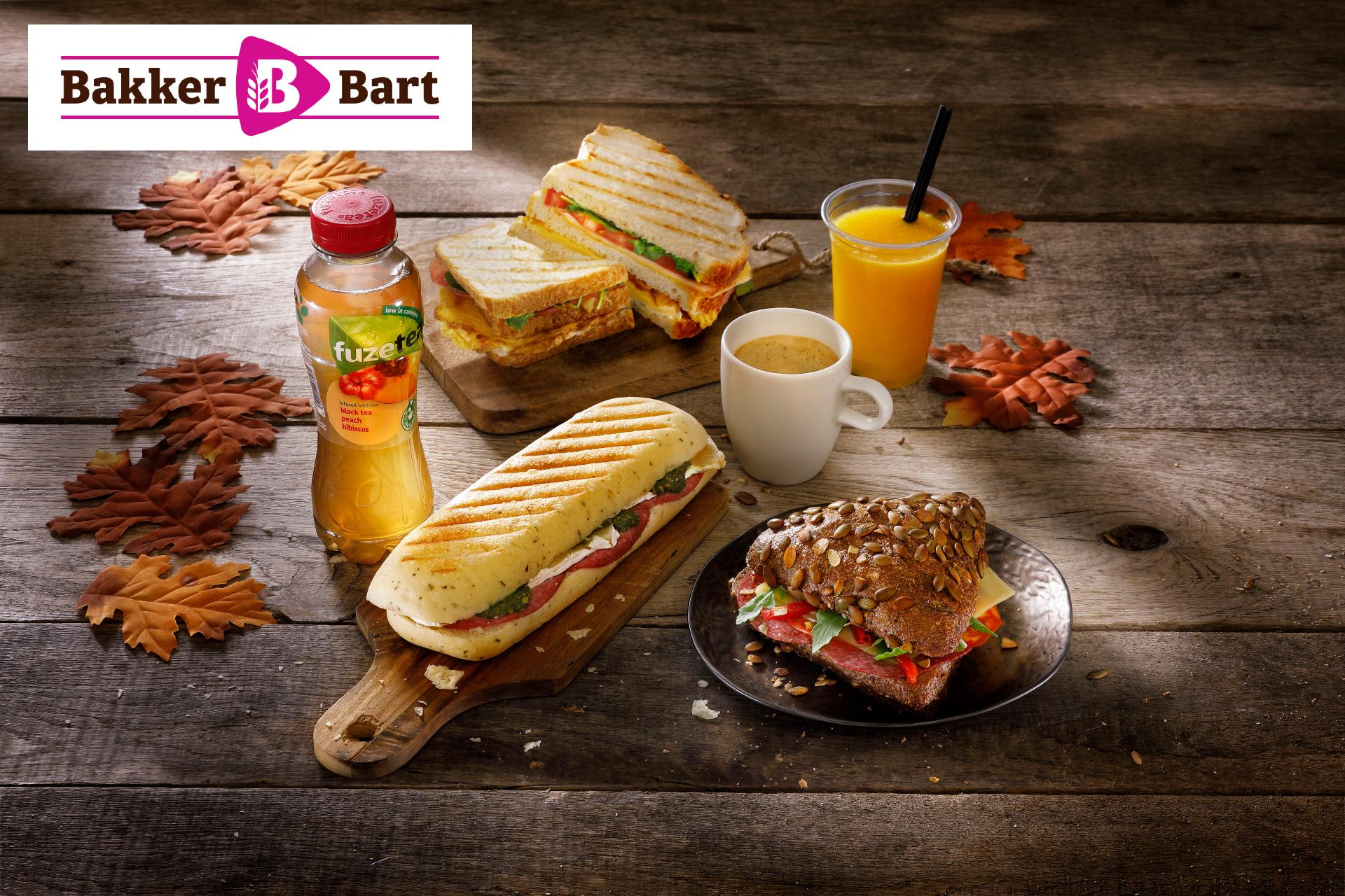 Bakker Bart lunchdeal van €6,95 voor €4,99