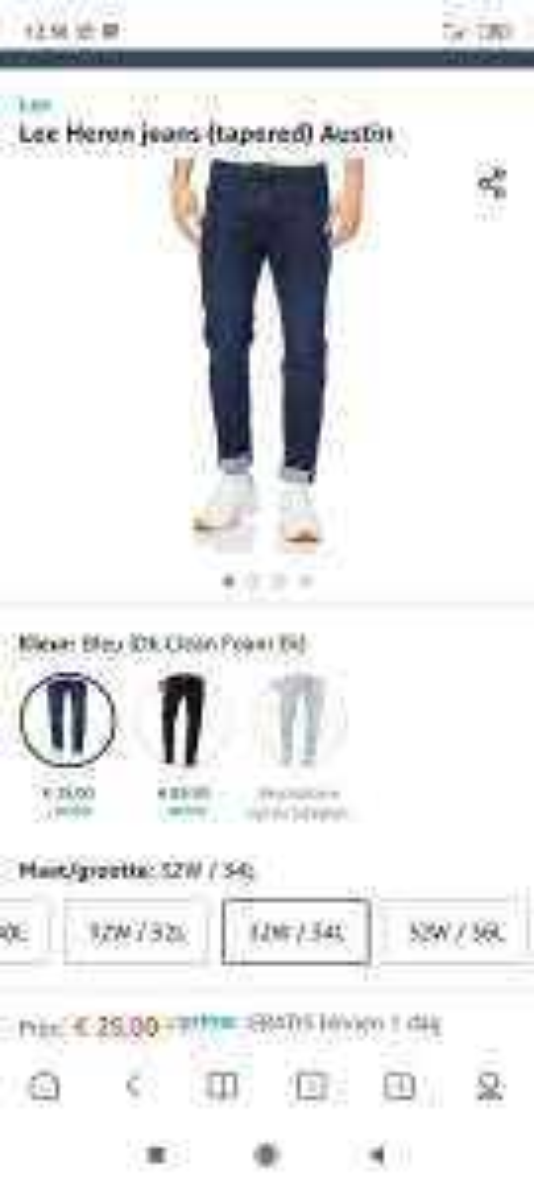 Amazon.nl Lee Heren jeans (tapered) Austin